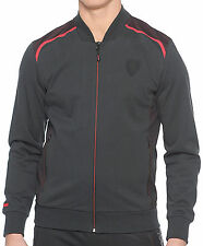 AUTHENTIC PUMA SCUDERIA FERRARI 2016 FULL ZIP SWEAT JACKET BLACK 570676-01