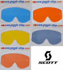 GOGGLE-SHOP MOTOCROSS MX GOGGLE REPLACEMENT TINT LENS fits SCOTT HUSTLE