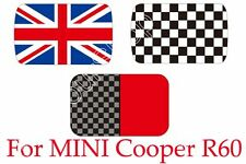Checkered Union Jack Roof Decal Stickers Graphic For MINI Cooper R60 Countryman