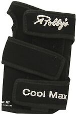 Robby's Cool Max Original Black Bowling Glove Support Left Right Handed NEW