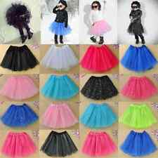 Modish Girls Kids Tutu Skirt Party Ballet Dance Wear Dress Pettiskirt Costume FT