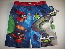 Angry Birds Space Swimsuit Swimwear Trunks Bathing Boys 2T 3T 4Toddlr UPF 50 NWT