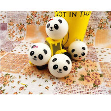 1PCS Kawaii cute Squishy Panda Cell Phone Charm Strap Bag Pendant Accessories