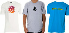NEW Volcom Stone T-Shirt Mens Large or Med Skate Icon Grey White Turquoise Tee
