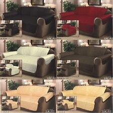 *STOCK CLEARANCE* QUILTED JACQUARD SOFA PET PROTECTOR CHAIR SLIP COVER THROW