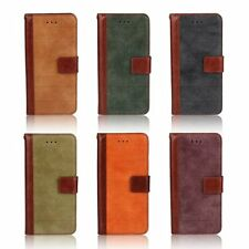 Vintage Soft Leather Magnetic Flip Stand Card Wallet Cover Skin For Apple iPhone