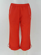 Puma 3/4 WOVEN PANTS WOMEN'S - 802370 06 - Puma red - red + new + size XS