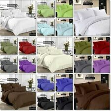 Hotel Collection Full XL Size 800-1000-1200TC 3pc Duvet Cover Pillow Set 42Color
