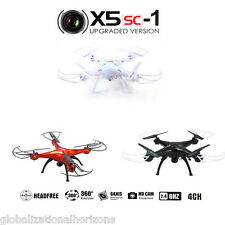Syma 4CH 2.4G Quad Drone 6 Axis Quadcopter UFO Aircraft Helicopter 2MP HD Camera