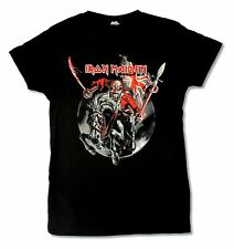 Iron Maiden Ed on Horse Maiden England 2012 Tour Juniors T Shirt Horse Rider