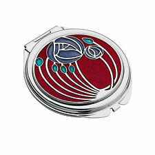 Sea Gems Silver Rennie Macintosh Rose Compact Mirror 8001 Brand New in Box