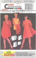 burda 3503 Misses' Jacket, Dress & Skirt 10, 12, 14, 16, 18, 20  Sewing Pattern