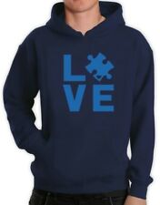 Autism Awareness Month - I Love Someone With Autism Hoodie Support