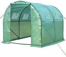 Greenhouse Tunnel 25 Mm Frame Polytunnel Includes 4 Anchor Pegs Free Postage