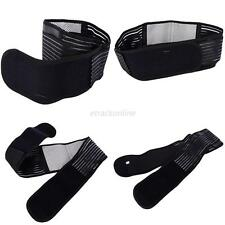 New Double Pull Lumbar Lower Back Support Brace Breathable Belt Band