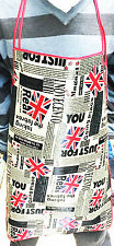 UNION JACK NEWS PAPER DESIGN APRON KITCHEN ACCESSORY GIFT