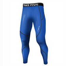 Take Five Mens Skin Tight Compression Base Layer Running Pants Leggings NT509