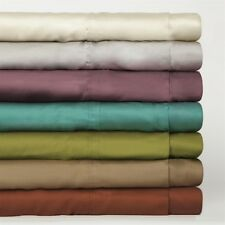 "Real 800TC 100% Egyptian Cotton Ultra Soft Solid 4PC Sheet Set 24""Deep CA Size"