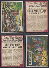 A&BC - CIVIL WAR NEWS 1965 (TITLE 44mm) (NUMBERS 001-030) SELECT YOUR CARD