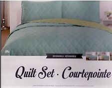 Mia 3PC Reversible  Quilt Set ,Size : King