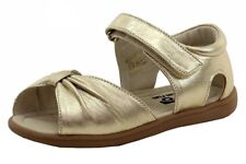 See Kai Run Toddler Girl's Avianna Gold Fashion Leather Sandals Shoes