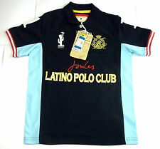 Joules Junior Boys Latino Polo Shirt Navy Blue 5 + 7 year Club Deauville G_Jnr