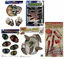 HALLOWEEN HORROR #HAUNTED HOUSE SCARY FANCY DRESS DECORATIONS ALL KINDS