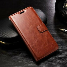 Luxury Leather Magnetic Flip Card Holder Wallet Stand Case Cover Pouch For LG G5
