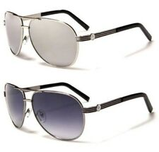 NEW SUNGLASSES BLACK AIR FORCE UV400 AVIATOR MENS LADIES VINTAGE RETRO DESIGNER