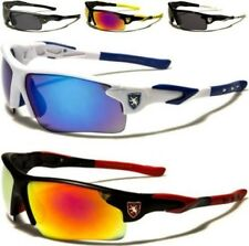 NEW SUNGLASSES BLACK MENS LADIES BOYS SPORTS DESIGNER WRAP MIRRORED CYCLING GOLF