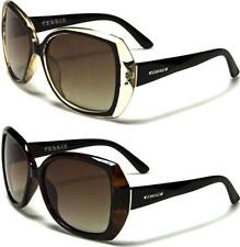 BLACK POLARIZED SUNGLASSES LADIES WOMENS GIRLS DESIGNER VINTAGE BIG LARGE UV400