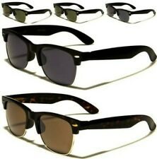 NEW SUNGLASSES BROWN BLACK DESIGNER MENS LADIES WOMENS BOYS GIRLS RETRO VINTAGE
