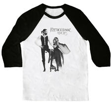 Fleetwood Mac Rumors 3/4 Sleeve Raglan Rock T-Shirt - NEW! - S M L XL XXL 3XL