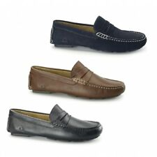 Chatham ESCAPE Mens Suede/Leather Casual Comfort Slip On Driving Loafers Shoes