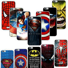 The Avengers Super Hero Style PC Hard Case Cover For iPhone 5 5s SE 6 6s Plus