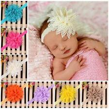 Kids Baby Girls Headband Toddler Cute Lace Flower Hair Band Accessories Headwear
