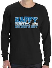 Happy Farter's Day I mean Father's Day Funny Gift for Dad Long Sleeve T-Shirt