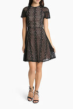 NEW Tokito Collection Lace Fit and Flare Dress Black