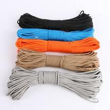 7 Core Strand Nylon Paracord Parachute Cord Lanyard Rope Survival 100ft Useful