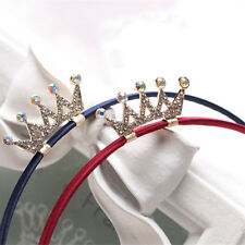 New Girls Princess Headbands Tiaras Crowns Crystal Hair Hoop Hair Accessories