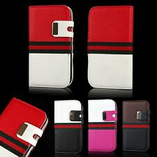 Fashion Leather Magnetic Flip Card Wallet Case Cover For Samsung Galaxy S3 I9300