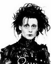 EDWARDS SCISSORHANDS JOHNNY DEPP Poster | Cubical ART | Gifts | FREE Shipping