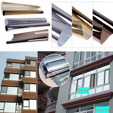 Solar Reflective One Way Mirror 15% Window Tint Film Insulation Adhesive Sticker
