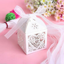 5x Party 2016 Wedding Cake Favours Sweet Boxes Decorations Candy Luxury Box