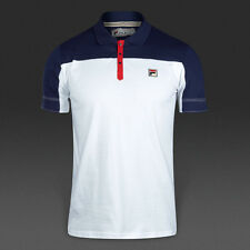 Fila Vintage Polo-Corsair Guillermo Vilas Iconic Retro Tennis Shirt. Ltd Edition