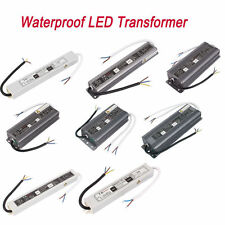 AC100-250V to DC 12V US Plug Transformer IP67 Waterproof LED Driver Power Supply