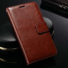 Luxury Leather Flip Card Holder Wallet Stand Pouch Case Cover For Lenovo S660