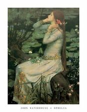 JOHN WILLIAM WATERHOUSE - OPHELIA Poster | Cubical ART | Gifts | FREE Shipping