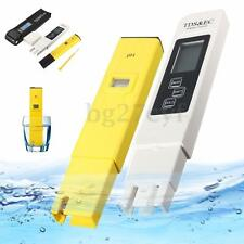 Digital LCD PH Meter TDS EC Water Purity PPM Filter Hydroponic Pool Tester Pen