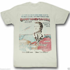 T-Shirts Sizes S-2XL New Mens Evel Knievel Snake River Canyon Tee Shirt